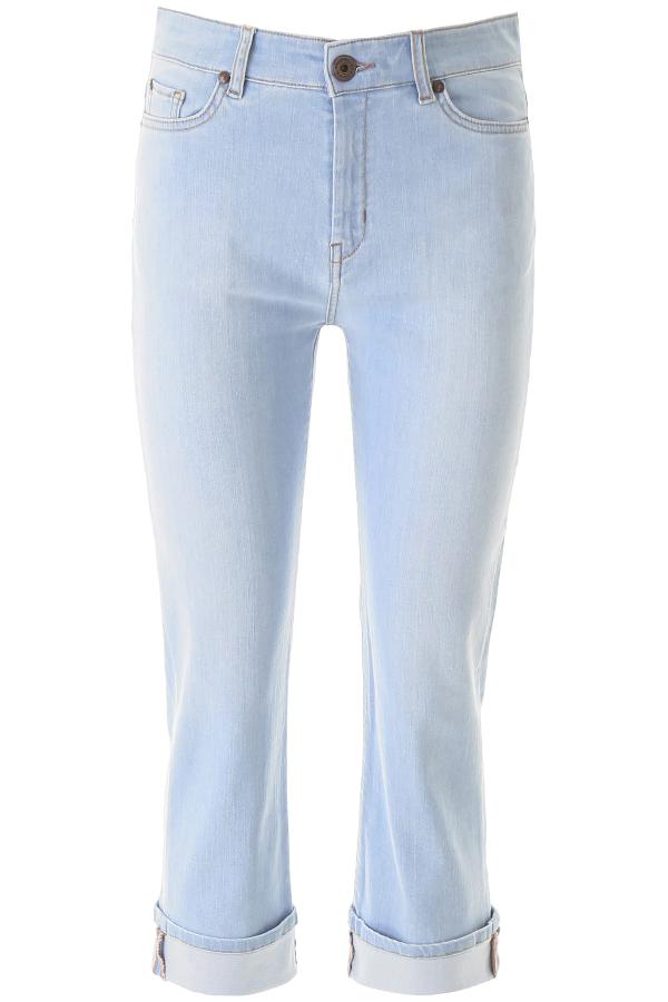 Weekend Max Mara Olea Denim Jeans In Light Blue