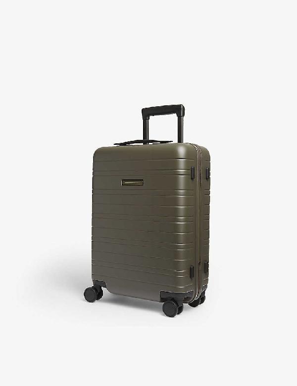 Horizn Studios H5 Four-wheel Cabin Suitcase 55cm In Dark Olive