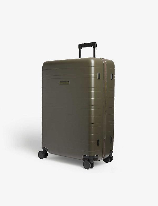 Horizn Studios H7 Four-wheel Suitcase 77cm In Dark Olive