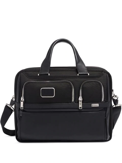 Tumi Alpha 3 Expandable Laptop Briefcase In Black