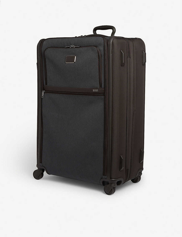 Tumi Alpha 3 Extended Trip Expandable Suitcase 79cm In Anthracite