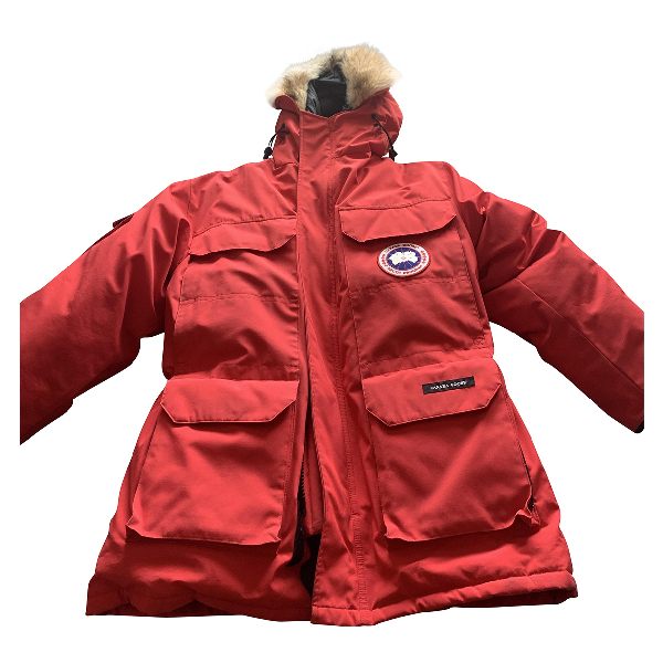 Canada Goose Expedition Red Coat