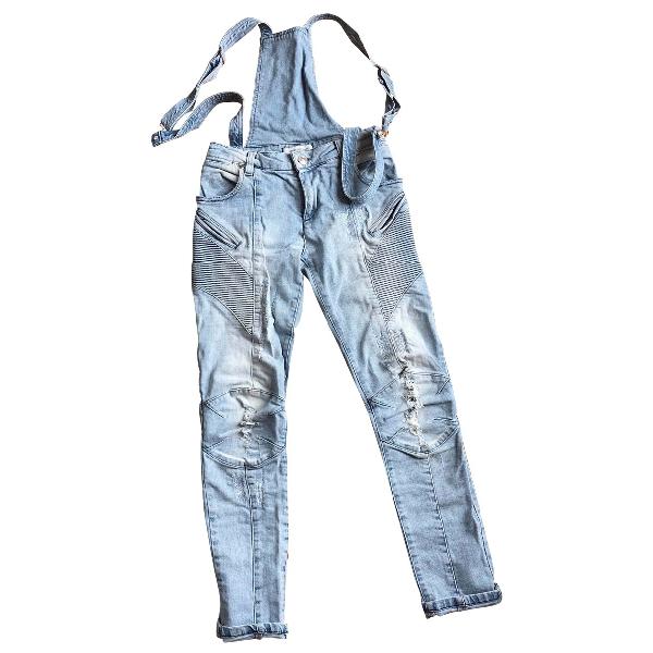 Pierre Balmain Blue Denim - Jeans Trousers