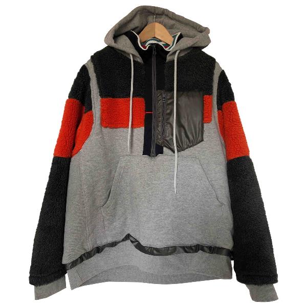 Facetasm Grey Cotton Knitwear & Sweatshirts