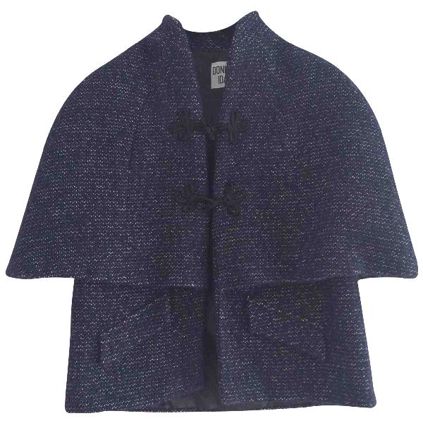 Donna Ida Blue Tweed Jacket