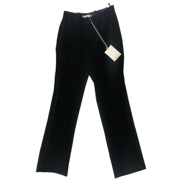 Givenchy Black Velvet Trousers