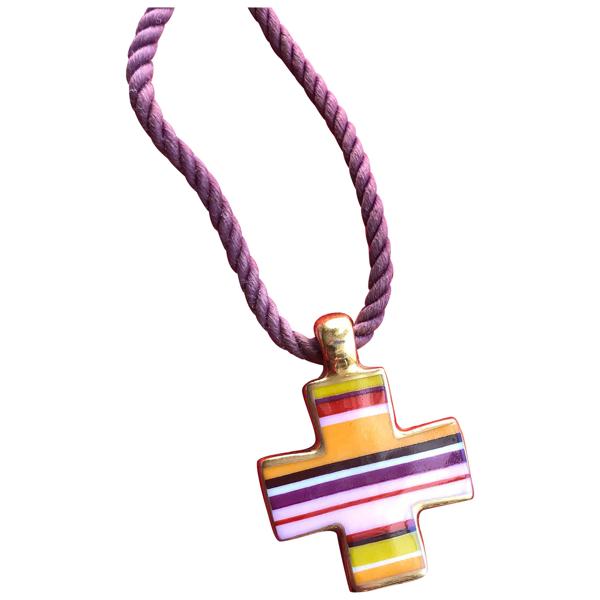Pre-owned Bernardaud Multicolour Ceramic Pendant