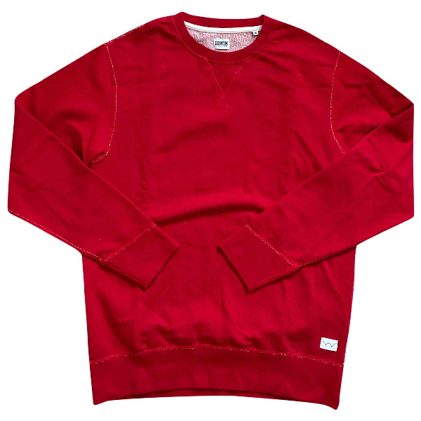 Edwin Red Cotton Knitwear & Sweatshirts