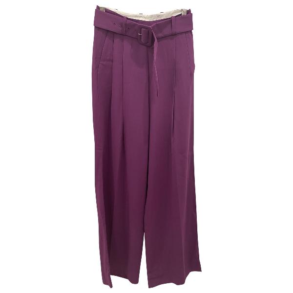 Bouguessa Purple Trousers