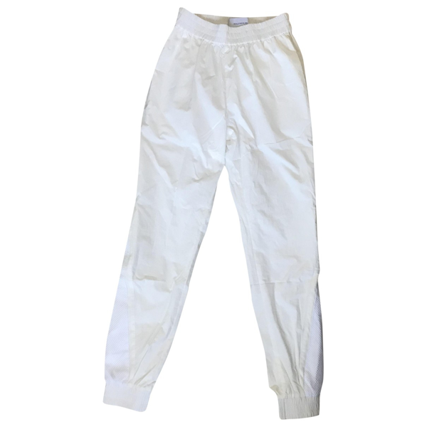 Pre-owned Holzweiler White Cotton Trousers