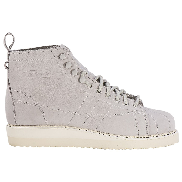 Chapel stream mortgage  Pre-Owned Adidas Originals Superstar Grey Leather Ankle Boots | ModeSens