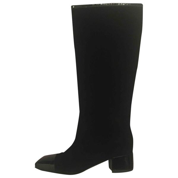 Fiorifrancesi Black Leather Boots