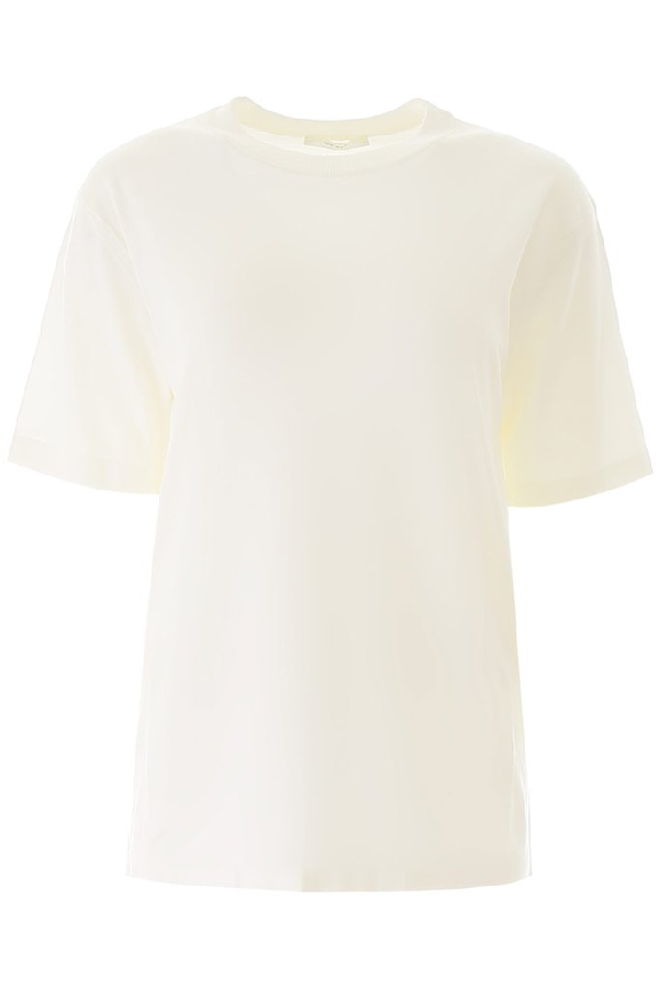 The Row Oversized T In White