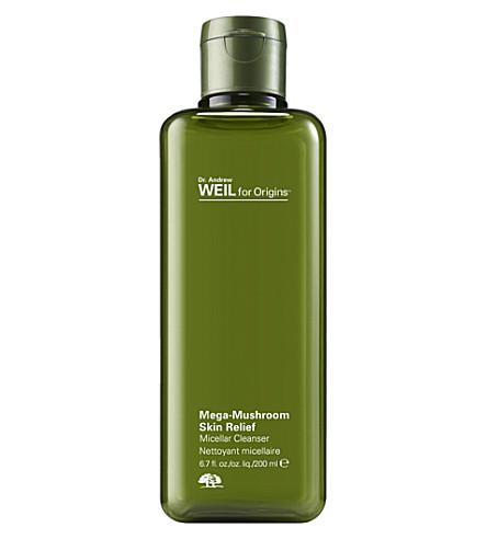 Origins Dr. Andrew Weil Mega-mushroom Skin Relief Micellar Cleanser 200ml