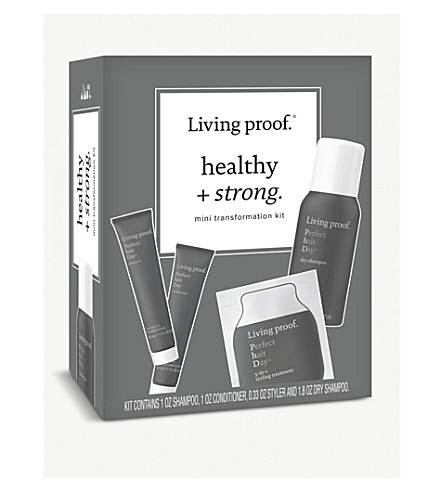 Living Proof Healthy And Strong Mini Transformation Hair Kit