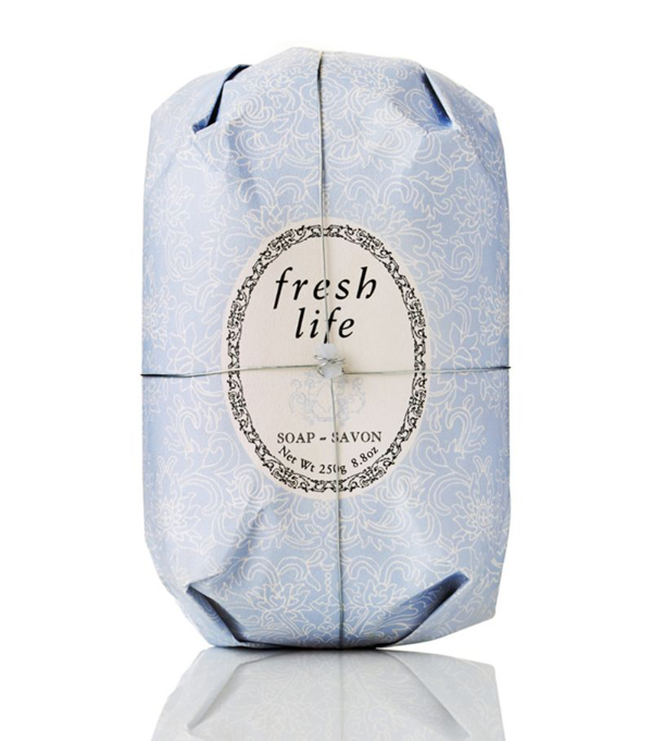 Fresh Life Oval Soap In White