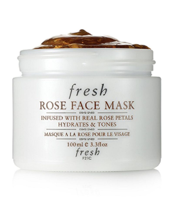 Fresh Rose Face Mask In White