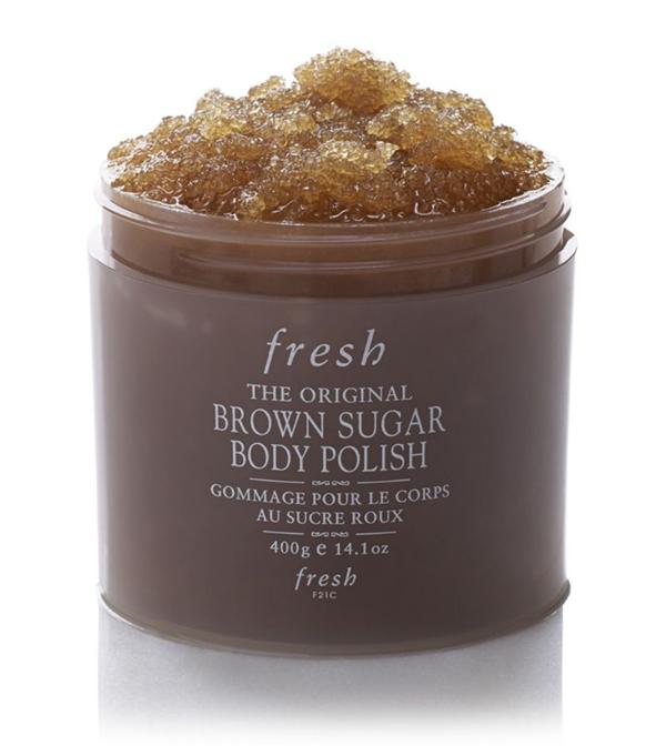 Fresh Brown Sugar Body Polish (400g) In White