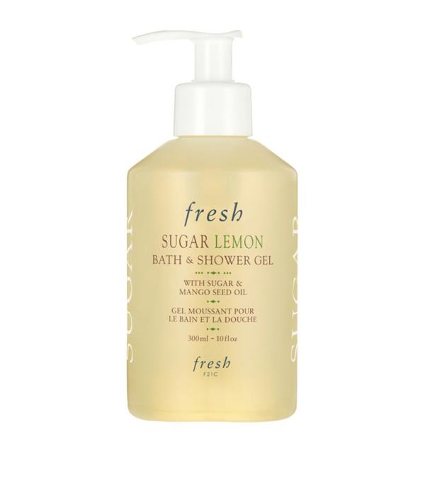 Fresh Sugar Lemon Bath And Shower Gel (300ml) In White