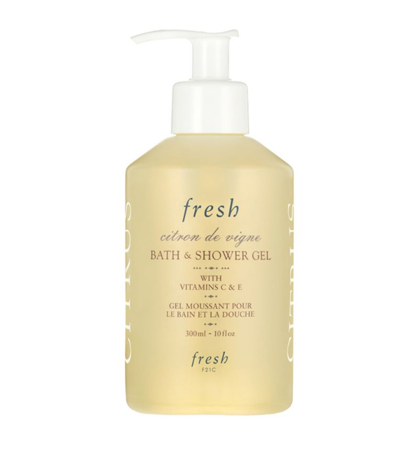 Fresh Citron De Vigne Bath And Shower Gel (300ml) In White