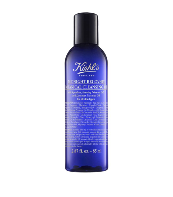 Kiehl's Since 1851 Kiehl's Midnight Recovery Cleansing Oil (75ml) In Blue