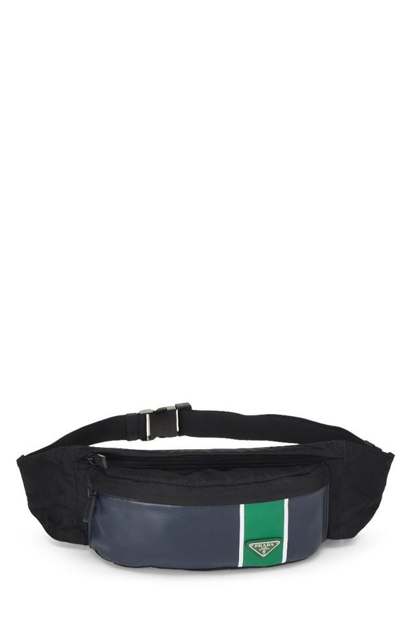 Prada Multicolor Tessuto Belt Bag