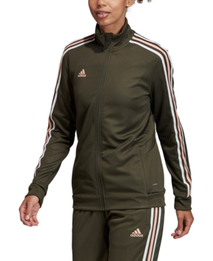 Adidas Originals Adidas Women's Tiro Track Jacket In Dark Green