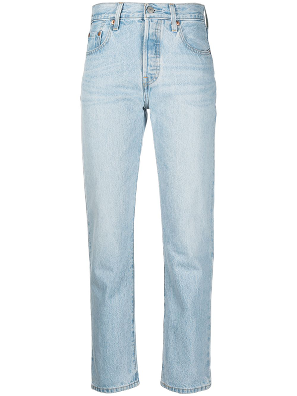 Levi's Women's Classic Straight-leg Jeans In Blue
