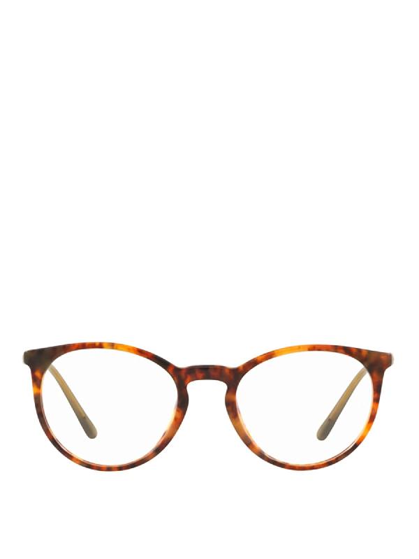 Polo Ralph Lauren Tortoiseshell Optical Glasses In Brown