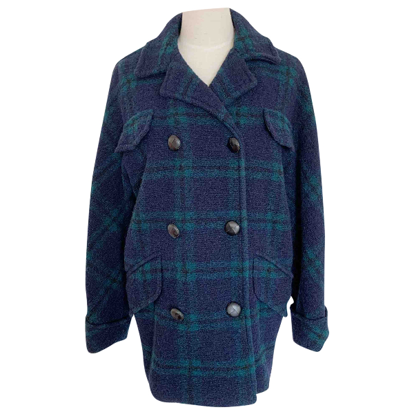 Isabel Marant Étoile Blue Wool Coat