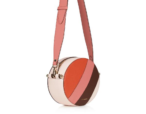 Ss20 Breve Bag In Patchwork Stripes Soft Pink