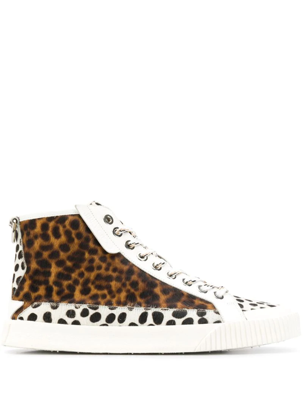 Jimmy Choo Impala High-top Sneakers In White