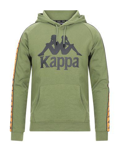 Kappa Hooded Sweatshirt In Military Green