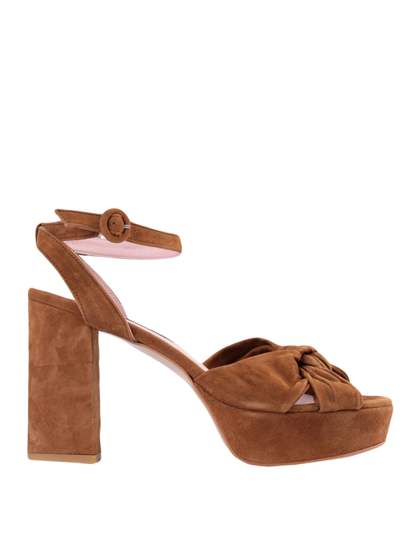 Essentiel Antwerp Sandals In Brown