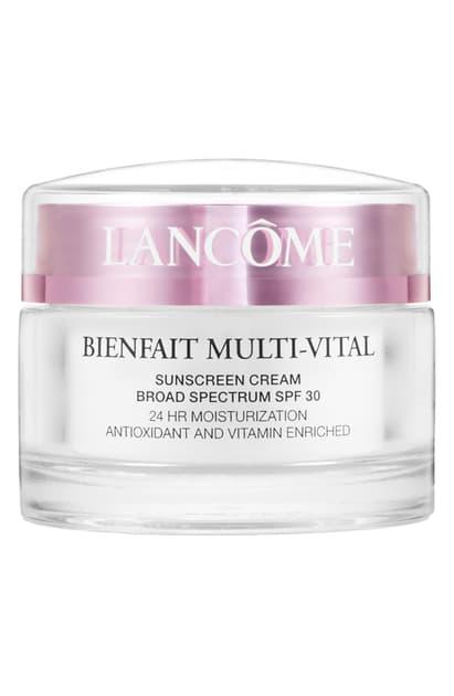 Lancôme Bienfait Multi-vital Spf 30 Day Cream Moisturizer