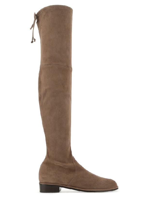 Stuart Weitzman Lowland Boots In Brown