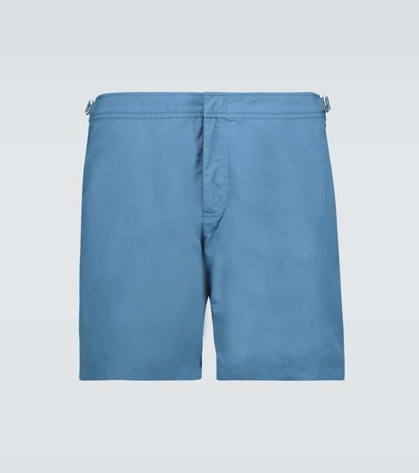 Orlebar Brown Bulldog Swim Shorts In Blue