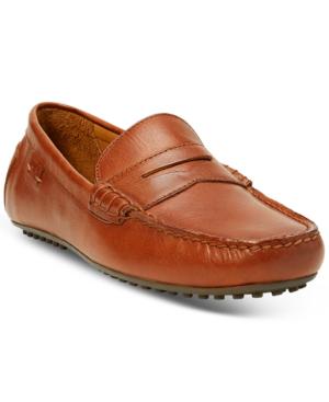 Polo Ralph Lauren Men's Reynolds Drivers Men's Shoes In Brown
