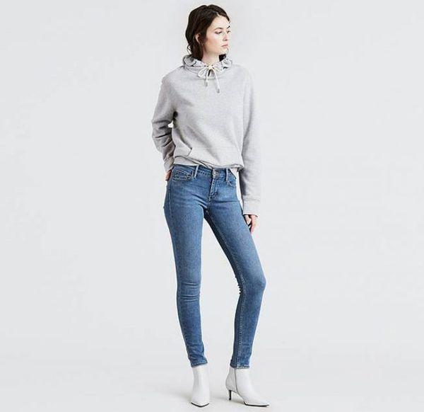 Levi's Women's 710 Super Skinny Jeans In Blue