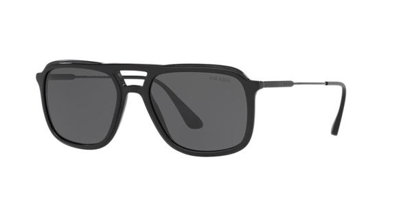 Prada Sunglasses, Pr 06vs 54 In Grey-black