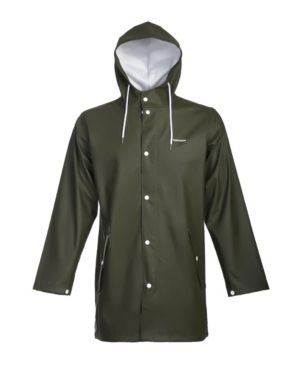 Tretorn Unisex Rain Jacket In Evergreen
