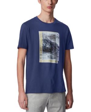 Hugo Boss Boss Men's Tiburt 164 Dark Blue T-shirt