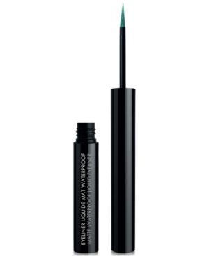 Black Up Matte Waterproof Liquid Eyeliner In Elm02 Green