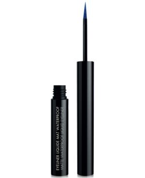 Black Up Matte Waterproof Liquid Eyeliner In Elm05 Electric Blue