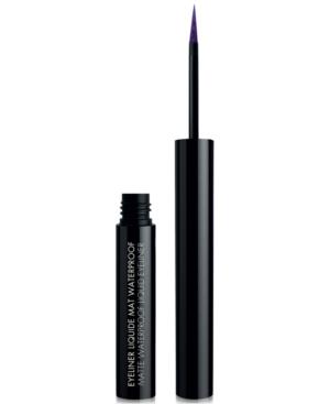 Black Up Matte Waterproof Liquid Eyeliner In Elm04 Purple