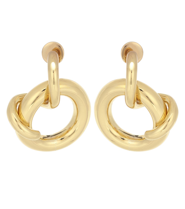 Ellery Soul Knot Earrings In Gold