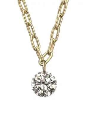 Ila Women's Soleil 14k Yellow Gold & Diamond Chain Necklace