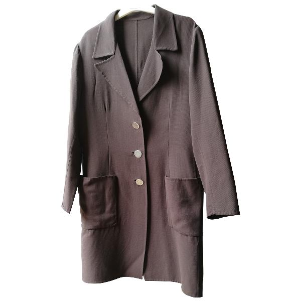 Stephan Janson Brown Wool Coat