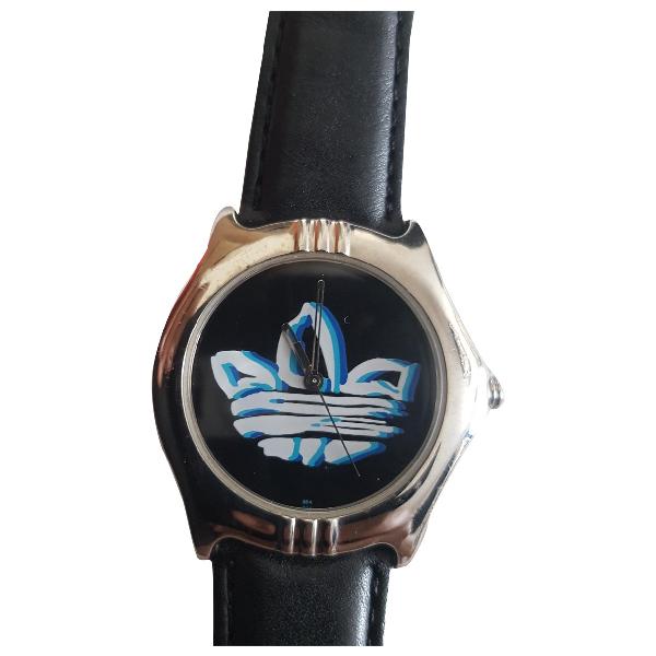 Adidas Originals Black Steel Watch