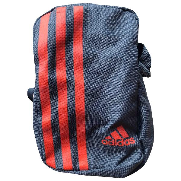 Adidas Originals Grey Cotton Small Bag, Wallet & Cases